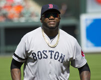 David Ortiz, Boston Rode Sox Royalty-vrije Stock Afbeeldingen