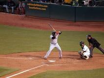 Free David Ortiz Up To Bat With Kurt Suzuki Catching Stock Images - 15232144