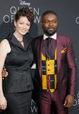 David Oyelowo und Jessica Oyelowo Stockbilder