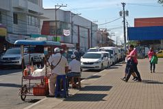 David- - Panama-Straße stockbild