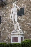 David in Piazza della Signoria. Florence Royalty Free Stock Photography