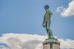 David at Piazzale Michelangelo in Florence, Italy stock photos