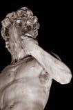 David por Michelangelo, Florença Imagens de Stock Royalty Free
