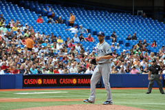 David Price of the Tampa Bay Rays Royalty Free Stock Photo