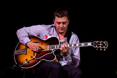David Reinhardt no festival de jazz de Úmbria Foto de Stock