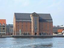 David Replica i Köpenhamn Arkivfoton