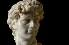 David Replica in Marble Stock Image
