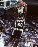 David Robinson San Antonio Spurs royaltyfria bilder