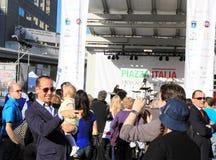 David Rocco au festival de Piazza Italie Image libre de droits