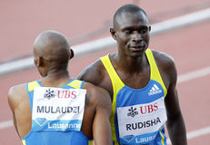 David Rudisha (KEN) Royalty Free Stock Photos