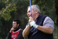 David Russell at Cannes-Mougins Seniors Masters Royalty Free Stock Image