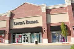 David's Bridal Royalty Free Stock Photos