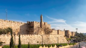 Free David`s Tower In Old City Of Jerusalem, Israel Stock Images - 144900424