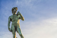 David Sculpure. In Florence Italy Royalty Free Stock Photography
