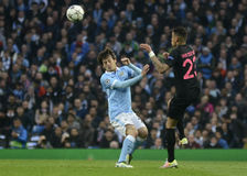 David Silva and Gregory van der Wiel Stock Photography