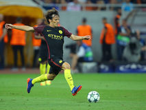 David Silva. David Josue Jimenez Silva midfielder of Manchester City, pictured during the Uefa Champions League match against Steaua Bucharest. Manchester City Stock Photos