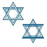 David star jewish star vector symbol design Royalty Free Stock Image
