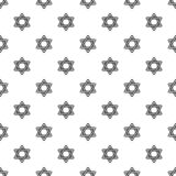 David star pattern seamless vector stock illustration