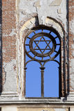 David star on synagogue. In Edirne, Turkey Stock Images