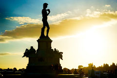 David statue. Statue of David at Micheal Angelo Park . Florence, Italy Stock Image