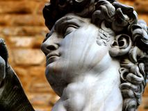 David Statue in Florence Royalty Free Stock Photography