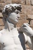 David Statue in Florence Italië Royalty-vrije Stock Foto