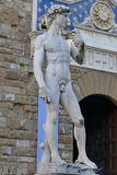 David Statue Florence, Tuscany,  Italy Royalty Free Stock Photo