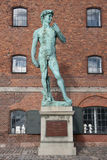 David statue by Michelangelo in Copenhagen. Royalty Free Stock Images