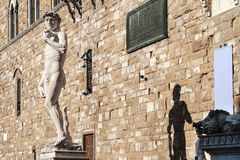 David statue by Michelangelo Royalty Free Stock Photo