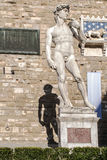 David statue by Michelangelo Royalty Free Stock Photography