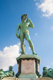 David Statue at Piazzale Michelangelo in Florence, Italy Stock Photo