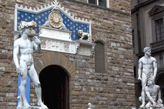 David statue. A view of David statue,Florence,Italy Stock Images