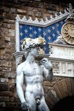 David statue. A view of David statue,Florence,Italy Royalty Free Stock Image
