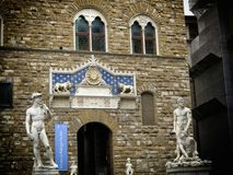 David statue. A view of David statue,Florence,Italy Royalty Free Stock Photography