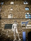 David statue. A view of David statue,Florence,Italy Royalty Free Stock Photo