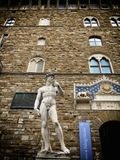 David statue. A view of David statue,Florence,Italy Stock Photo