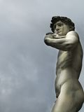 David statue. A view of David statue,Florence,Italy Stock Image