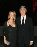 David Steinberg with wife Robyn Stock Images