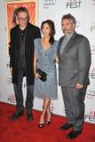 David Thewlis, Luc Besson, Michelle Yeoh stock image