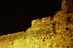 David tower and jaffa gate. In  jerusalem old city Royalty Free Stock Image