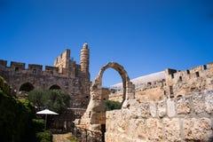 David Tower .The Old City Jerusalem. Royalty Free Stock Photo