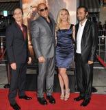 David Twohy & Vin Diesel & Katee Sackhoff & Jordi Molla Royalty Free Stock Photography