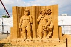 David und Venus Mulvany Fergus Oliver, Irland lizenzfreies stockfoto
