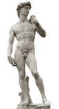 David van Michelangelo met het knippen van weg Royalty-vrije Stock Fotografie