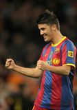 David villa of FC Barcelona Stock Photos