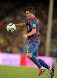 David Villa of FC Barcelona Stock Images