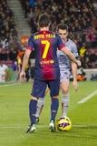 David Villa of FCB Stock Photo