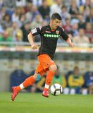David Villa of Valencia CF Stock Photo