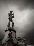 David w Piazzale Michelangelo, Florencja Fotografia Royalty Free