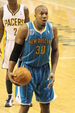 David West New Orleans Hornets free throw Stock Photography